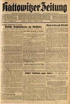 Kattowitzer Zeitung, 1935, Jg. 67, Nr. 192