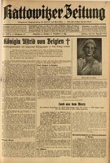 Kattowitzer Zeitung, 1935, Jg. 67, Nr. 199