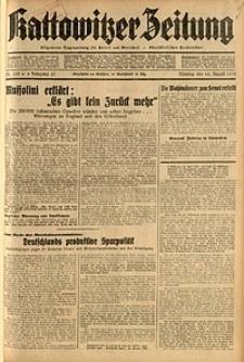 Kattowitzer Zeitung, 1935, Jg. 67, Nr. 195
