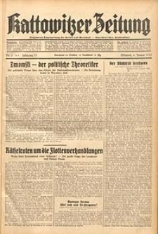 Kattowitzer Zeitung, 1939, Jg. 71, Nr. 3