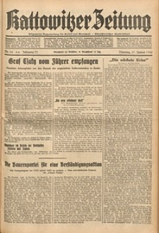 Kattowitzer Zeitung, 1939, Jg. 71, Nr. 16