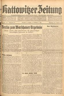 Kattowitzer Zeitung, 1939, Jg. 71, Nr. 28