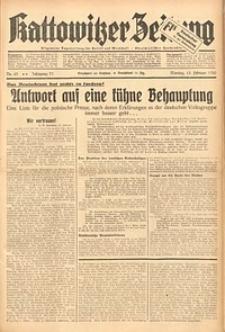 Kattowitzer Zeitung, 1939, Jg. 71, Nr. 43