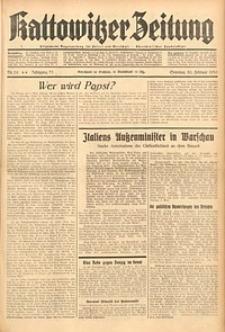 Kattowitzer Zeitung, 1939, Jg. 71, Nr. 56