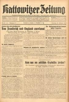 Kattowitzer Zeitung, 1939, Jg. 71, Nr. 58