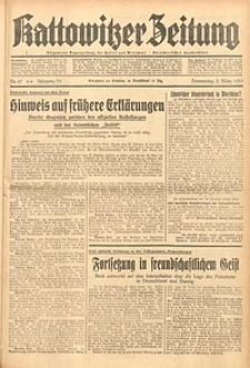 Kattowitzer Zeitung, 1939, Jg. 71, Nr. 67