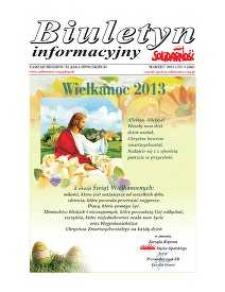 """Biuletyn Informacyjny """"Solidarność"""" 2013, nr 3 (346)."""
