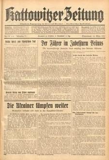 Kattowitzer Zeitung, 1939, Jg. 71, Nr. 76
