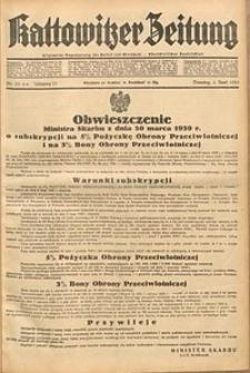 Kattowitzer Zeitung, 1939, Jg. 71, Nr. 93