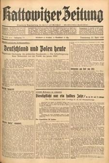 Kattowitzer Zeitung, 1939, Jg. 71, Nr. 114