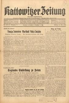 Kattowitzer Zeitung, 1939, Jg. 71, Nr. 197