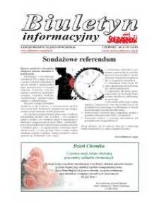 """Biuletyn Informacyjny """"Solidarność"""" 2013, nr 6 (349)."""