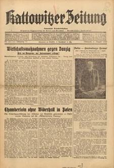 Kattowitzer Zeitung, 1939, Jg. 71, Nr. 209