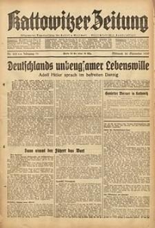 Kattowitzer Zeitung, 1939, Jg. 71, Nr. 253