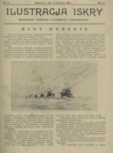 Ilustracja Iskry. Bezpłatny dodatek tygodniowy ilustrowany. 1925, nr 2