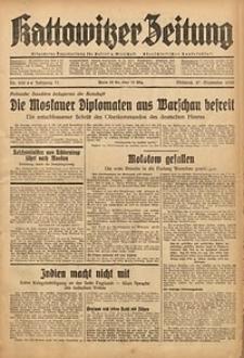 Kattowitzer Zeitung, 1939, Jg. 71, Nr. 260