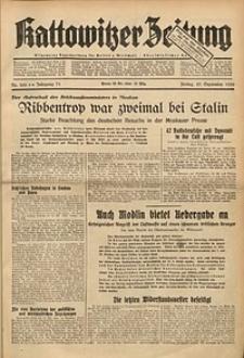 Kattowitzer Zeitung, 1939, Jg. 71, Nr. 262