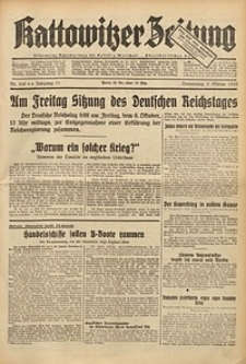 Kattowitzer Zeitung, 1939, Jg. 71, Nr. 268