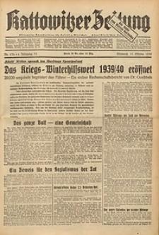 Kattowitzer Zeitung, 1939, Jg. 71, Nr. 274