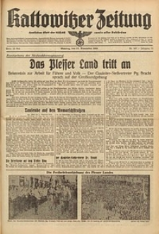 Kattowitzer Zeitung, 1939, Jg. 71, Nr. 307