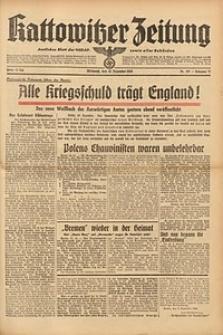 Kattowitzer Zeitung, 1939, Jg. 71, Nr. 337
