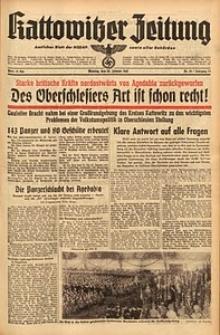Kattowitzer Zeitung, 1942, Jg. 74, Nr. 25