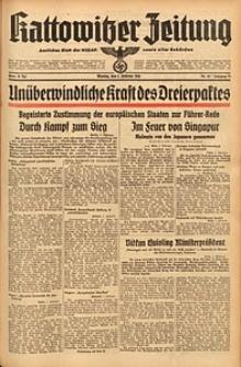 Kattowitzer Zeitung, 1942, Jg. 74, Nr. 32