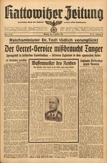 Kattowitzer Zeitung, 1942, Jg. 74, Nr. 39