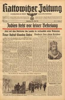 Kattowitzer Zeitung, 1942, Jg. 74, Nr. 91
