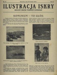 Ilustracja Iskry. Bezpłatny dodatek tygodniowy ilustrowany 1925 r, nr 17