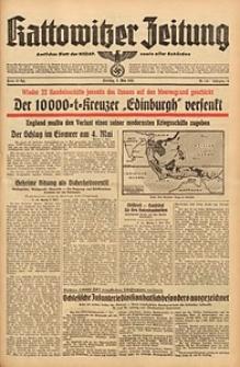 Kattowitzer Zeitung, 1942, Jg. 74, Nr. 124