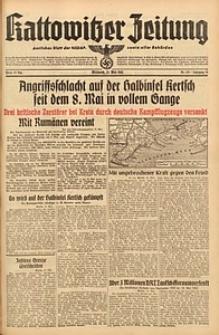 Kattowitzer Zeitung, 1942, Jg. 74, Nr. 129