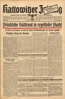Kattowitzer Zeitung, 1942, Jg. 74, Nr. 189