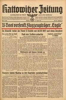 Kattowitzer Zeitung, 1942, Jg. 74, Nr. 218
