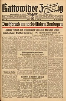 Kattowitzer Zeitung, 1942, Jg. 74, Nr. 223