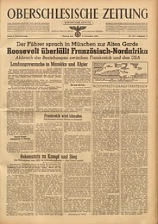 Oberschlesische Zeitung, 1942, Jg. 74, Nr. 307