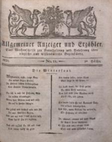 Allgemeiner Anzeiger und Erzähler, 1830, nr 11