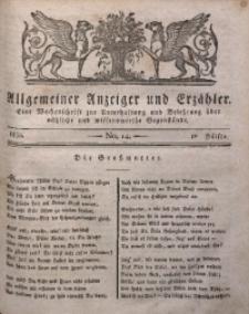Allgemeiner Anzeiger und Erzähler, 1830, nr 14