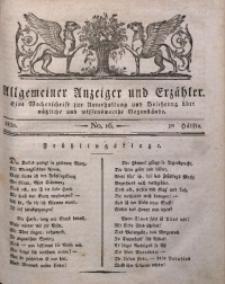 Allgemeiner Anzeiger und Erzähler, 1830, nr 16