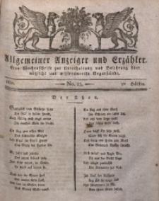 Allgemeiner Anzeiger und Erzähler, 1830, nr 23