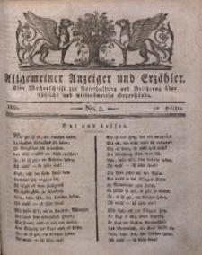 Allgemeiner Anzeiger und Erzähler, 1830, nr 8