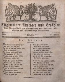 Allgemeiner Anzeiger und Erzähler, 1830, nr 10
