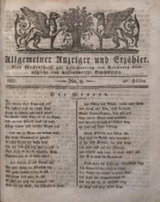 Allgemeiner Anzeiger und Erzähler, 1830, nr 9