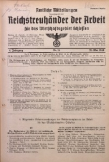 Amtliche Mitteilungen, 1940, Jg. 6, Nr. 15