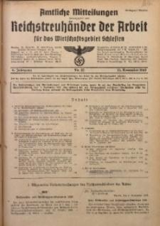 Amtliche Mitteilungen, 1940, Jg. 6, Nr. 32