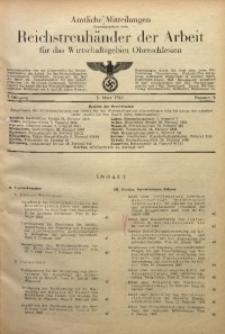 Amtliche Mitteilungen, 1943, Jg. 3, Nr. 5