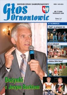 Głos Ornontowic, 2008, nr9 (77)