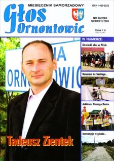 Głos Ornontowic, 2009, nr8 (88)