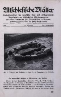 Altschlesische Blätter, 1938, Jg. 13, Nr. 6