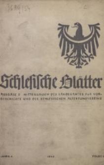 Altschlesische Blätter, 1942, Jg. 17, Nr. 1